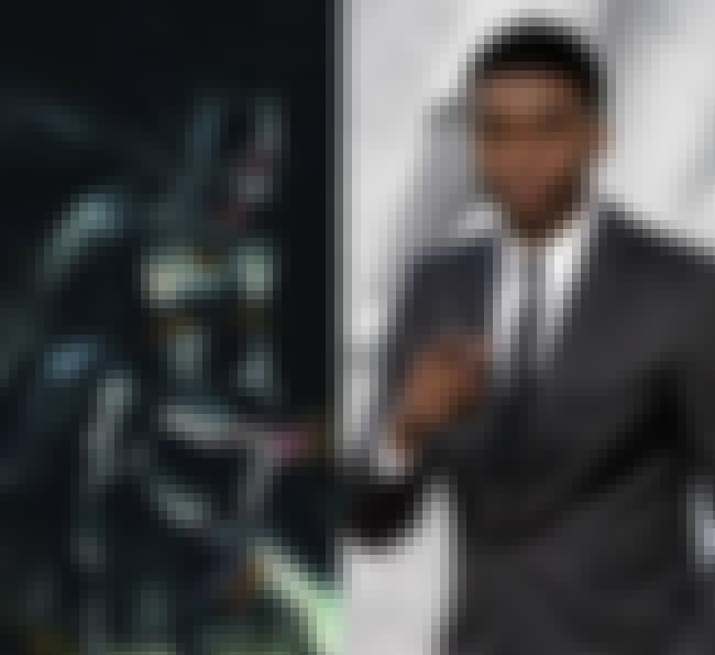 Chadwick Boseman is listed (or ranked) 4 on the list Actors Suited to Be Black Panther