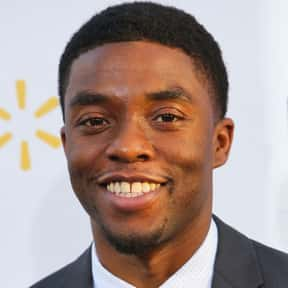 Chadwick Boseman is listed (or ranked) 19 on the list The Best Marvel Movie Actors Ever