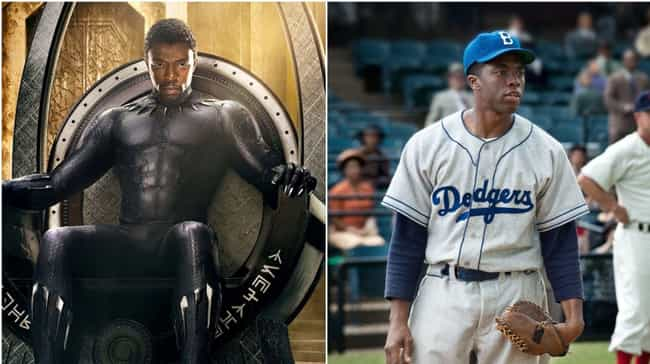 Chadwick Boseman is listed (or ranked) 1 on the list Where You've Seen All The Black Panther Actors Before