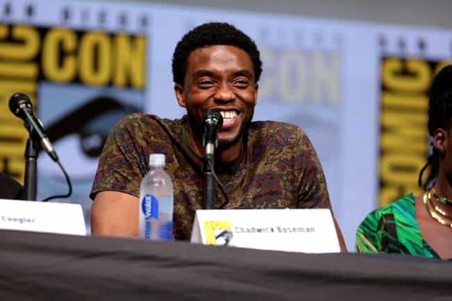 Chadwick Boseman is listed (or ranked) 2 on the list Actors Suited To Be Black Panther