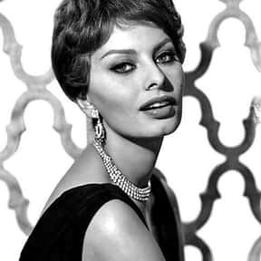 Sophia Loren is listed (or ranked) 4 on the list Popular Film Actors from Italy