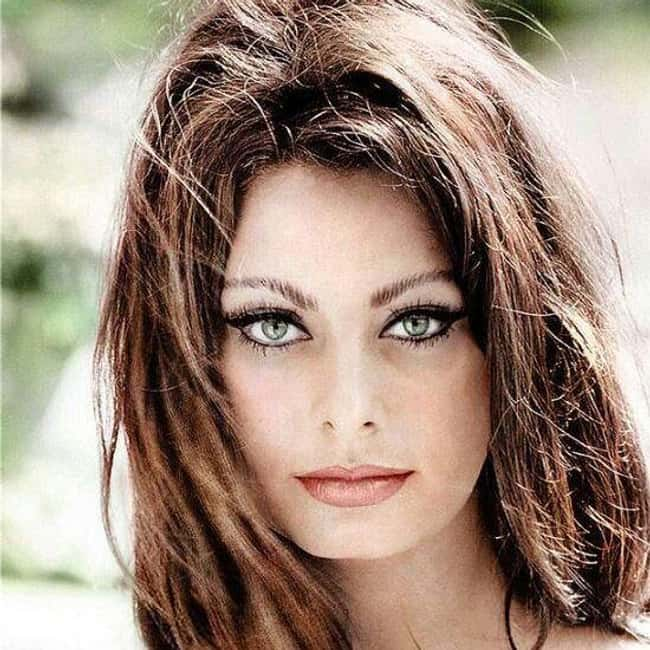 Sophia Loren is listed (or ranked) 39 on the list The Most Captivating Celebrity Eyes (Women)