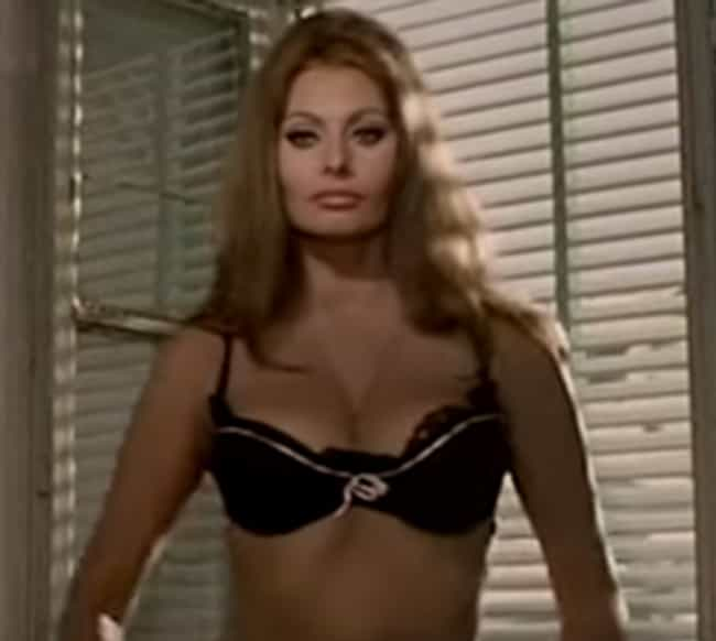 Sophia Loren is listed (or ranked) 3 on the list The Best Bra Reveals in Cinematic History