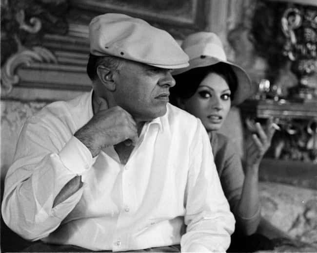 Sophia Loren is listed (or ranked) 25 on the list 48 Famous Couples with Huge Age Differences