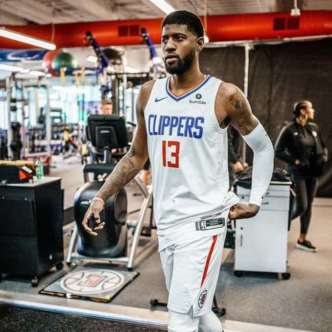 Paul George is listed (or ranked) 3 on the list Which NBA Star Will Win His First Ring?