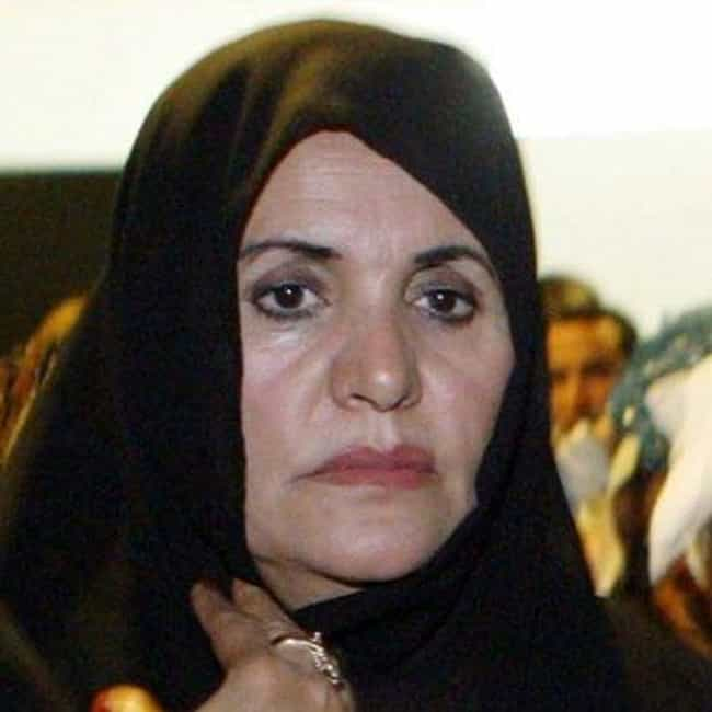 Safia Farkash is listed (or ranked) 4 on the list The Women Behind the Worst Men in History