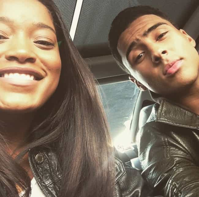 Quincy Brown is listed (or ranked) 4 on the list Keke Palmer Loves and Hookups