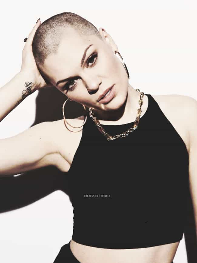 Jessie J is listed (or ranked) 4 on the list Beautiful Celebrity Women Who Shaved Their Heads