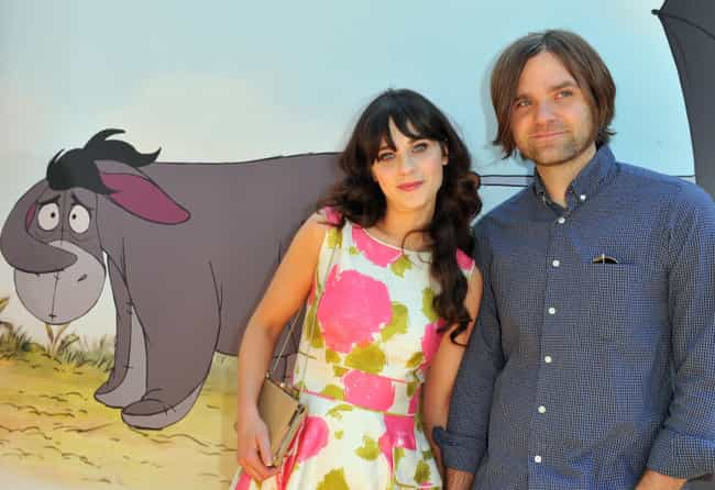 Ben Gibbard is listed (or ranked) 4 on the list Men Who Zooey Deschanel Has Dated