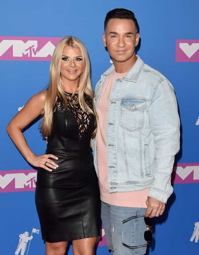 Mike Sorrentino is listed (or ranked) 1 on the list Celebrities Who Married Their College Sweethearts