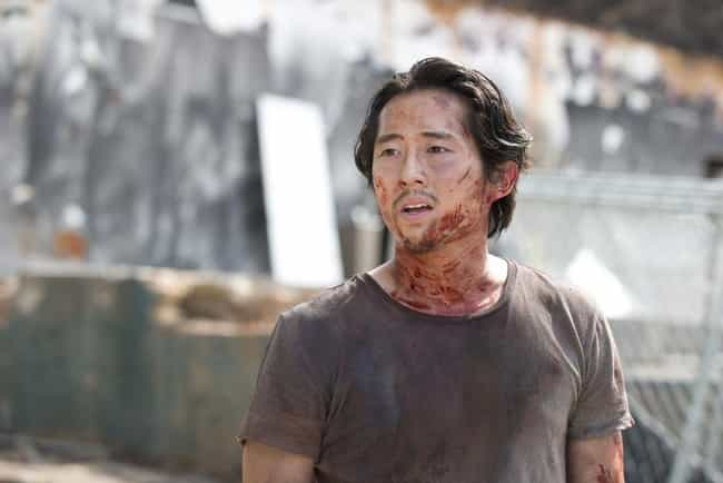 Steven Yeun is listed (or ranked) 7 on the list What The Cast Of 'The Walking Dead' Thinks About The Series