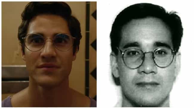 Darren Criss is listed (or ranked) 2 on the list American Crime Story: Versace Actors Versus Their Real-Life Counterparts