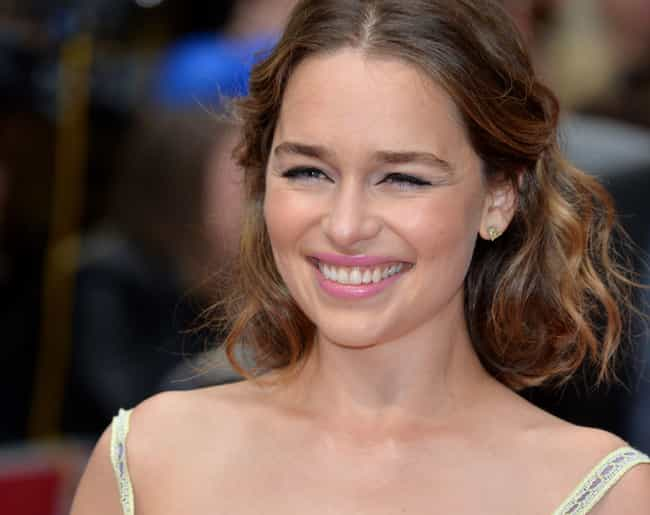 Emilia Clarke is listed (or ranked) 2 on the list James Franco Loves and Hookups