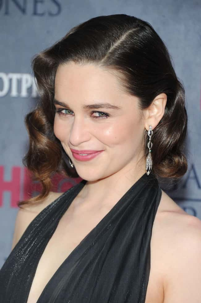 Emilia Clarke is listed (or ranked) 42 on the list The Most Captivating Celebrity Eyes (Women)