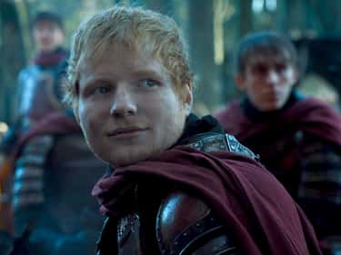Ed Sheeran is listed (or ranked) 1 on the list The Weirdest Cameos In 'Game Of Thrones' History