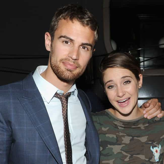 Theo James is listed (or ranked) 4 on the list Shailene Woodley Loves And Hookups