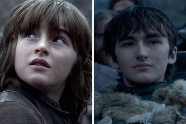 Isaac Hempstead-Wright is listed (or ranked) 1 on the list How the Cast of Game of Thrones Aged from the First to Last Season