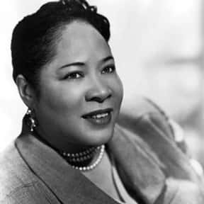 Juanita Hall is listed (or ranked) 22 on the list Theater Actors From The United States