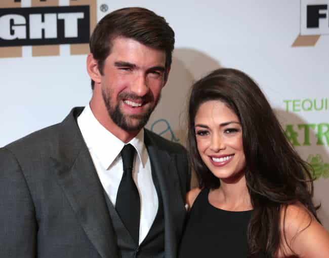 Nicole Johnson is listed (or ranked) 1 on the list Michael Phelps Loves and Hookups
