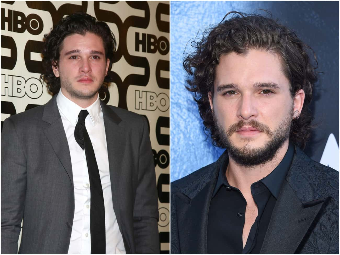 Kit Harington is listed (or ranked) 1 on the list Actors Who Actually Look Better With Facial Hair