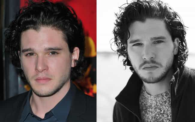 Kit Harington is listed (or ranked) 2 on the list 34 Actors Who Actually Look Better With Facial Hair