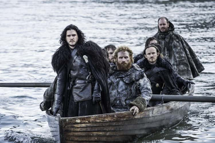 """Kit Harington Loves """"Hardhome"""" From Game of Thrones"""