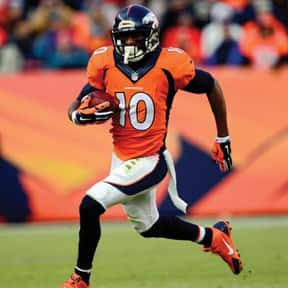 Emmanuel Sanders is listed (or ranked) 6 on the list Famous People Whose Last Name Is Sanders