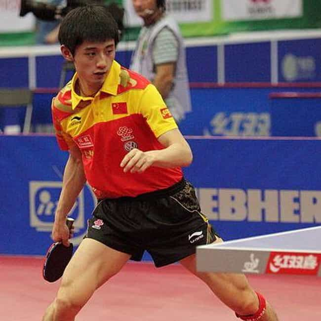 Zhang Jike is listed (or ranked) 3 on the list The Best Table Tennis Players Of All-Time