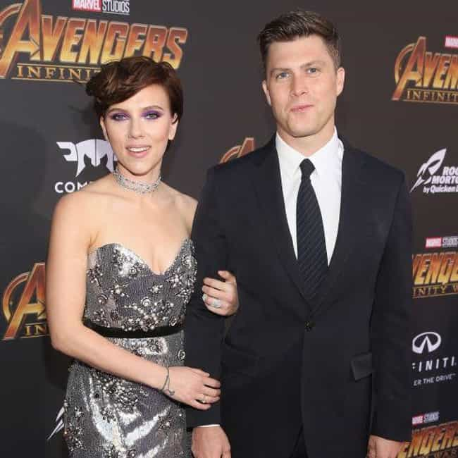 Colin Jost is listed (or ranked) 1 on the list Scarlett Johansson's Loves & Hookups