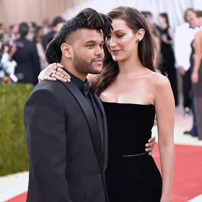 The Weeknd is listed (or ranked) 1 on the list Bella Hadid Loves And Hookups