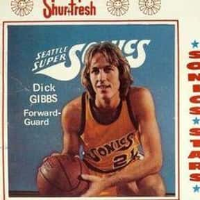 Dick Gibbs is listed (or ranked) 25 on the list The Best Oklahoma City Thunder Small Forwards of All Time