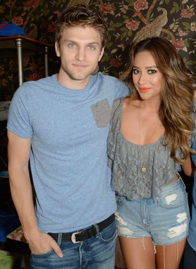 Shay Mitchell is listed (or ranked) 3 on the list Keegan Allen Loves and Hookups