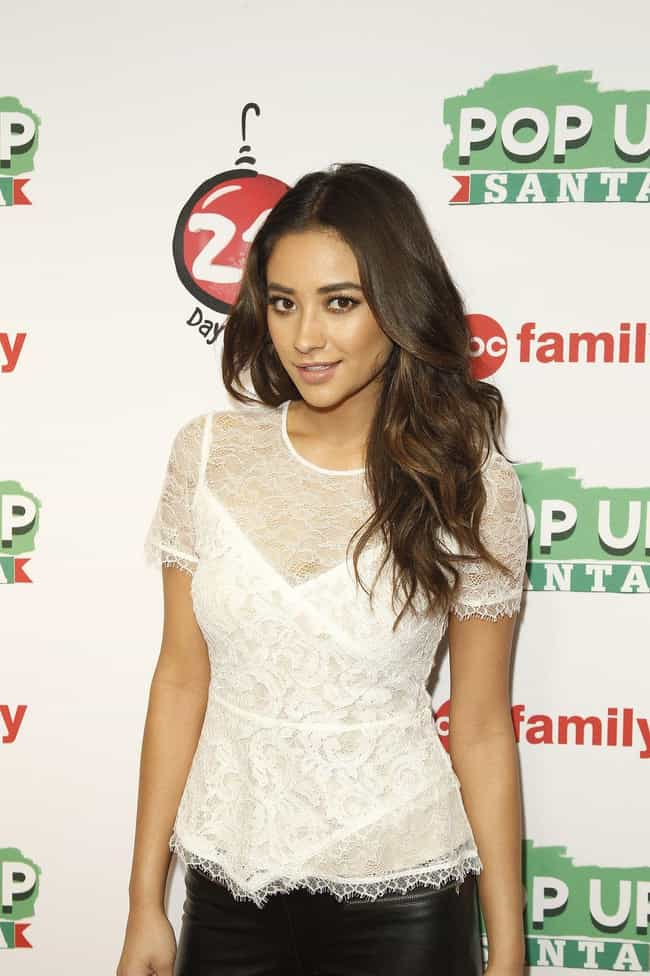 Shay Mitchell is listed (or ranked) 1 on the list The Most Beautiful Famous Brown-Eyed Girls