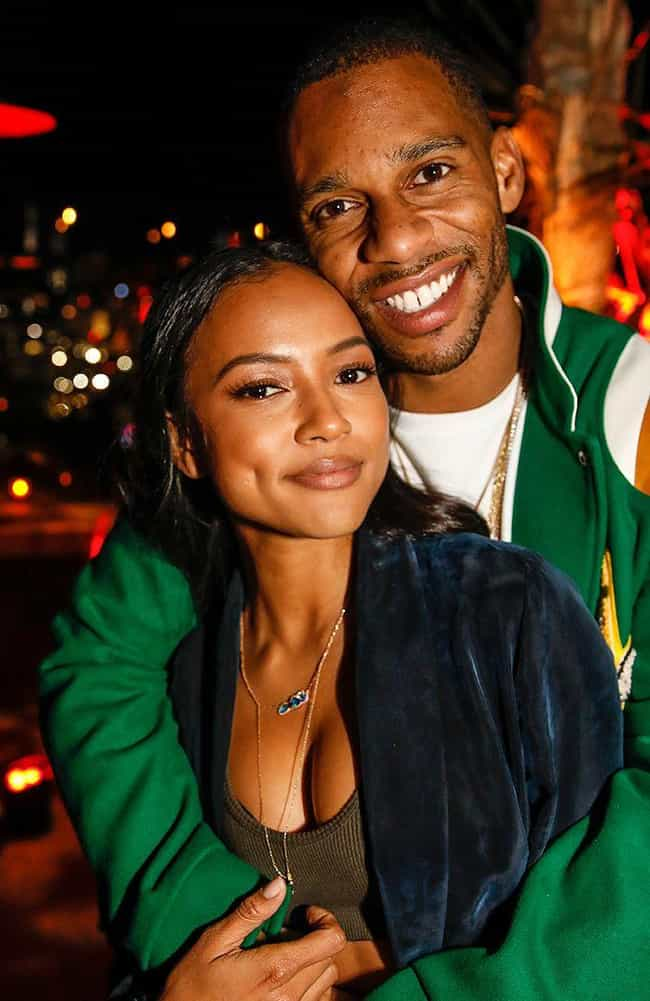 Victor Cruz is listed (or ranked) 1 on the list Karrueche Tran Loves and Hookups