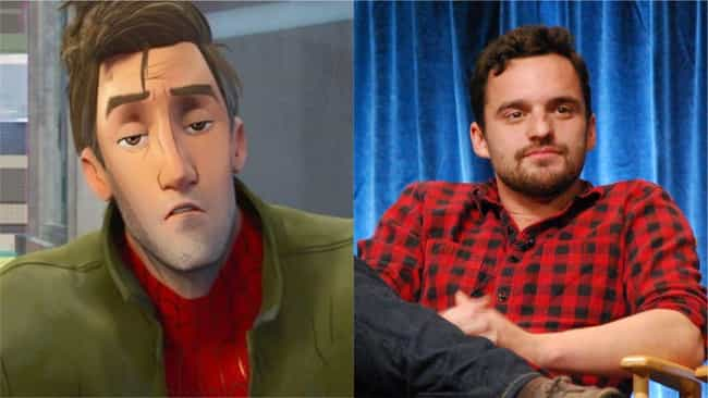 Jake Johnson is listed (or ranked) 2 on the list Here's Where You've Heard Everyone In 'Into The Spider-Verse' Before
