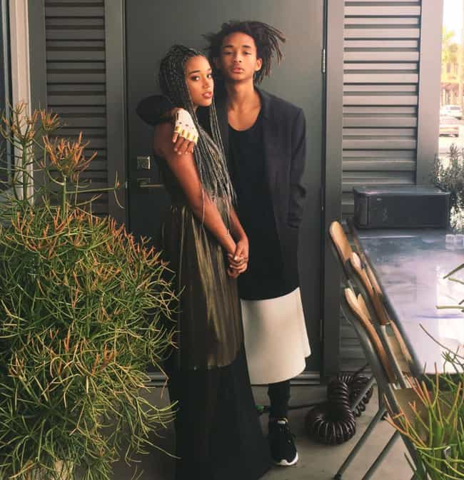 Amandla Stenberg is listed (or ranked) 4 on the list Jaden Smith Loves and Hookups