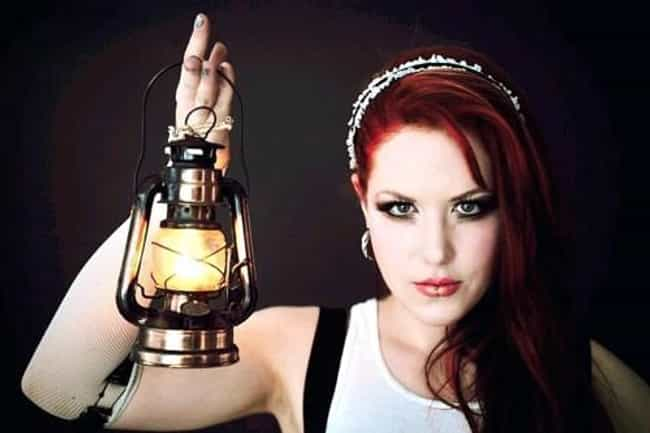 Alissa White-Gluz is listed (or ranked) 3 on the list Hottest Chicks In Metal and Punk