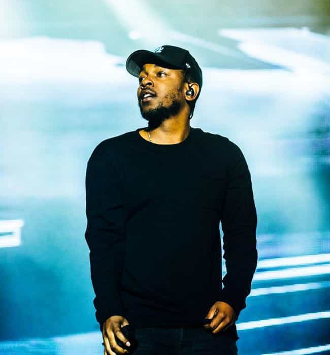 Kendrick Lamar is listed (or ranked) 4 on the list Rappers You Didn't Know Struggle with Anxiety