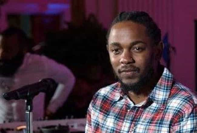 Kendrick Lamar is listed (or ranked) 3 on the list These Celebrity Spotify Playlists Give Listeners A Peek At What Their Faves Are Jamming To