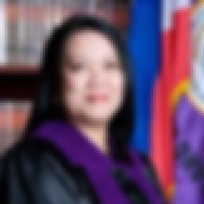 Maria Lourdes Sereno is listed (or ranked) 3 on the list Famous Female Jurists
