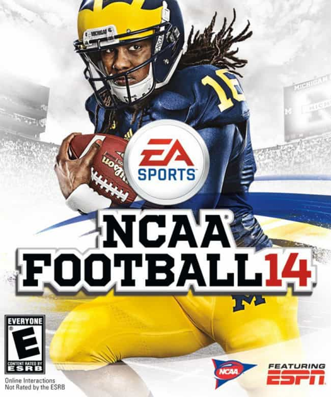 Denard Robinson is listed (or ranked) 1 on the list NCAA Football Cover Athletes