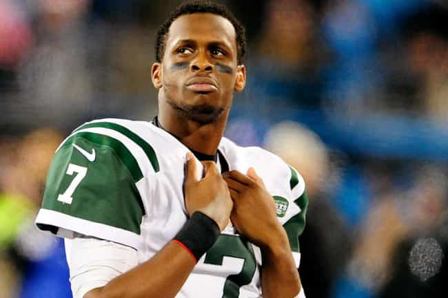 Geno Smith is listed (or ranked) 4 on the list The Worst Athletes of 2014