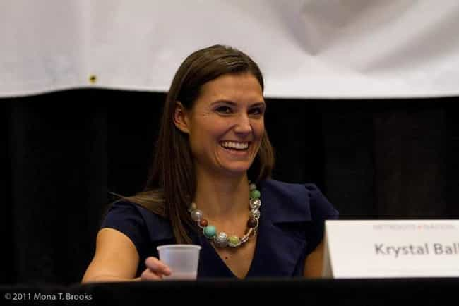 Krystal Ball is listed (or ranked) 2 on the list Famous Female Certified Public Accountants
