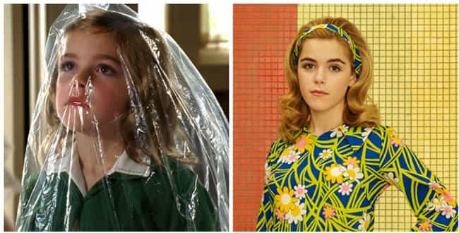Kiernan Shipka is listed (or ranked) 2 on the list How the Cast of Mad Men Aged from the First to Last Season