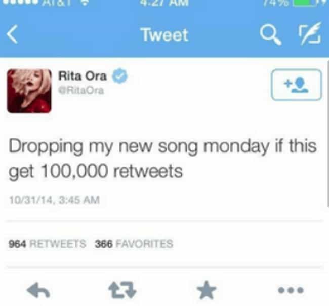 Rita Ora is listed (or ranked) 4 on the list Celebrities Who Got Caught Lying On Social Media