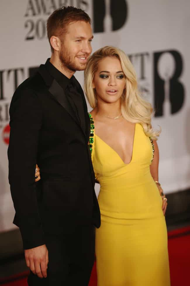 Rita Ora is listed (or ranked) 4 on the list Calvin Harris Loves and Hookups