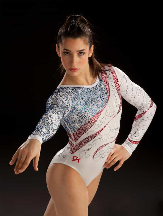 Aly Raisman is listed (or ranked) 2 on the list The Female Gymnasts That Keep You Tuned In