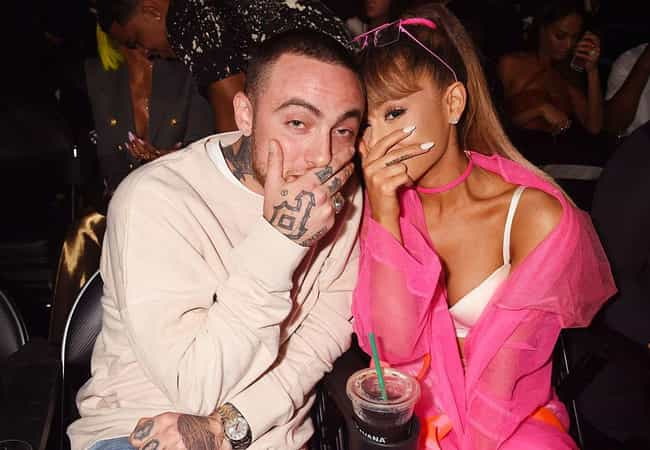 Mac Miller is listed (or ranked) 4 on the list A Complete Timeline Of Each Of The Relationships Ariana Grande Name-Drops In 'Thank U, Next'