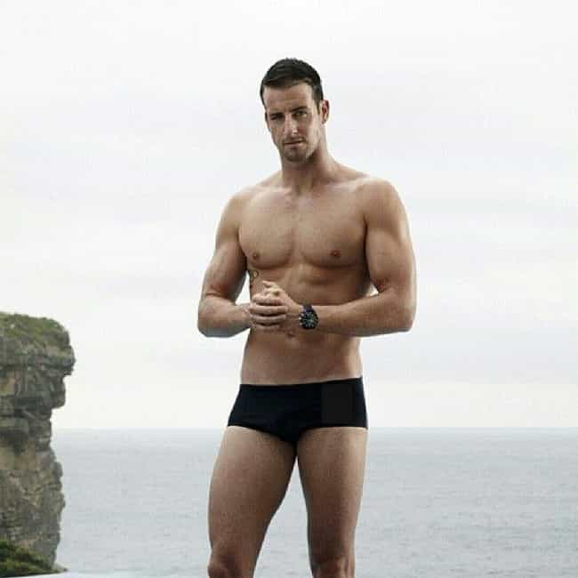 James Magnussen is listed (or ranked) 1 on the list Hottest Olympic Male Swimmers