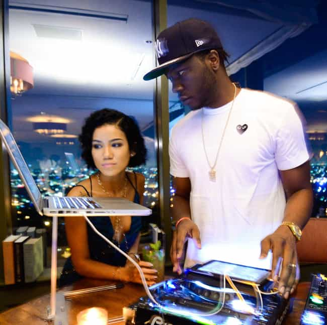 Dot da Genius is listed (or ranked) 2 on the list Jhené Aiko Loves and Hookups